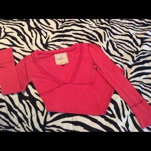 XS Hollister Half Sleeve Shirt